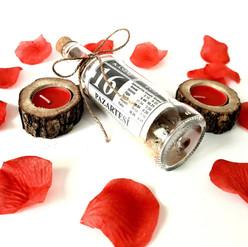 Sevgiliye Eşe Doğum Günü Evlilik Yıl Dönümü Hediye Cam Şişeli Takvim Yaprağı