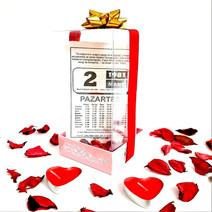 Sevgiliye Eşe Doğum Günü Hediye Özel Şeffaf Kutulu Takvim Yaprağı