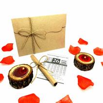 Sevgiliye Eşe Doğum Günü Evlilik Yıldönümü Hediye Takvim Yaprağı