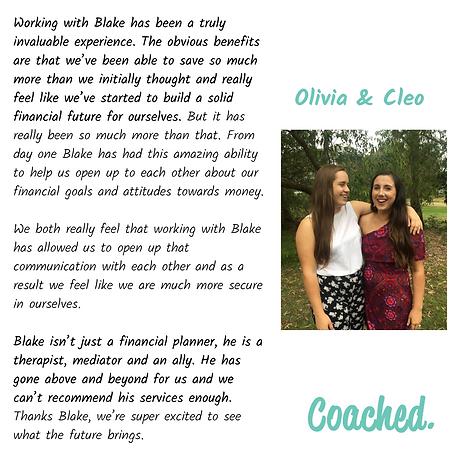 Image - Testimonial - Liv & Cleo - 20181