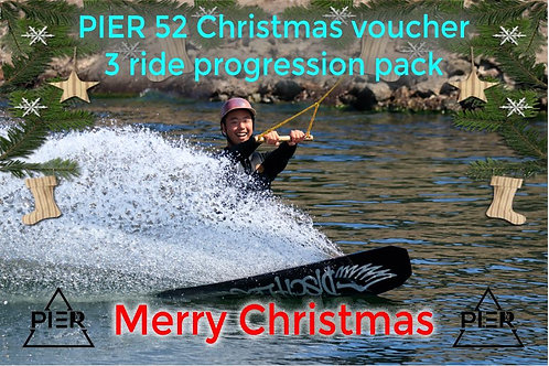 Wakeboard 3 ride pack Christmas Gift