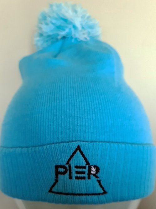 Pier 52 Bobble Hat - Blue