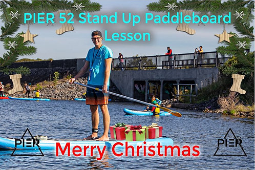 Stand Up Paddleboard Lesson Christmas Gift