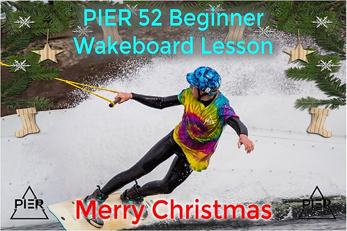 Wakeboard Lesson Christmas Gift