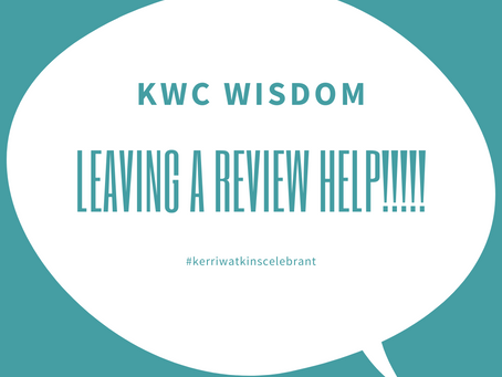 Why leave a review?