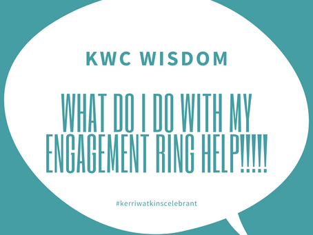 What Do I Do With My Engagement Ring