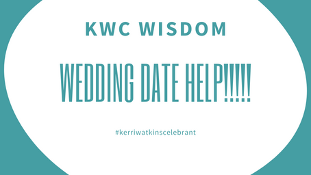 Wedding Date Help