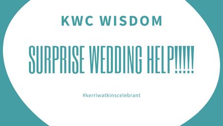 Surprise Weddings