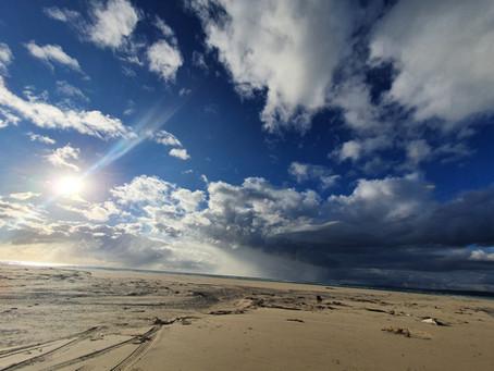 Long walks on the beach...