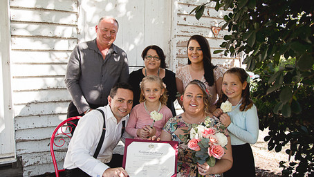 Legals only wedding, a Registry Office alternative - with heart!