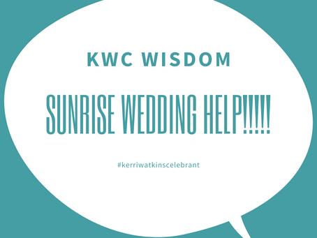 Sunrise Weddings