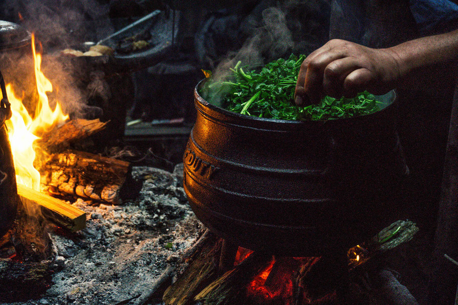 Boil-Up pot