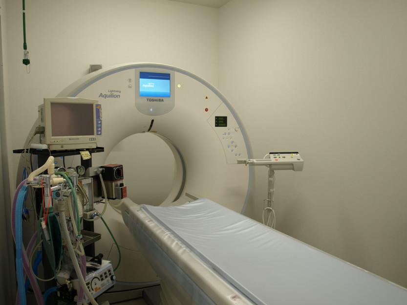 やさか動物病院 CT室