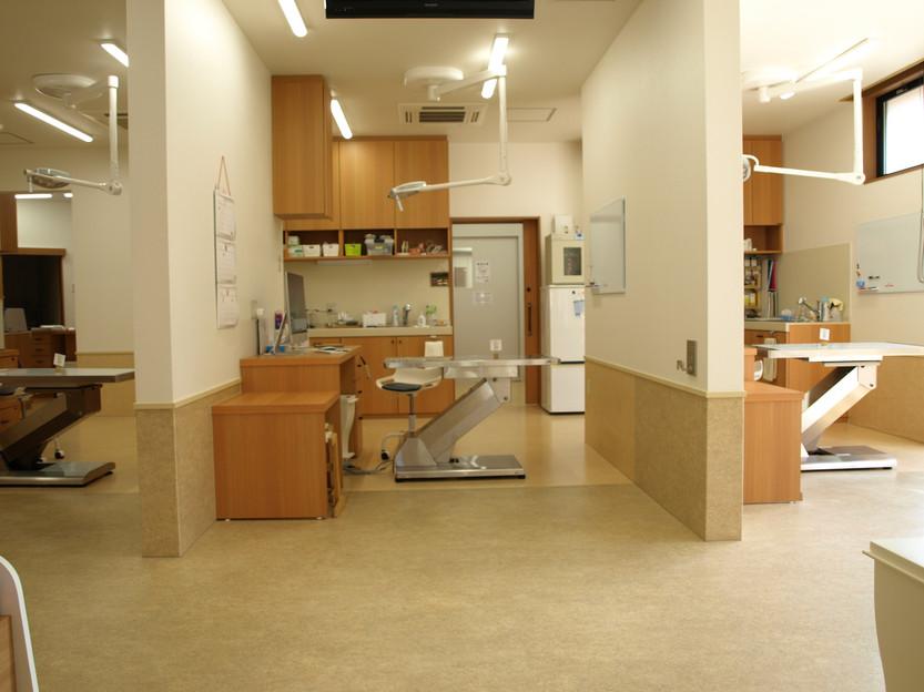 やさか動物病院 診察室