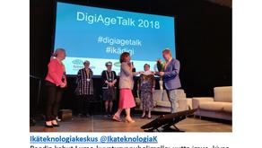 Digitreffeillä kotimainen Oulumon kuvaturvapuhelin vakuutti ikäihmisten raadin