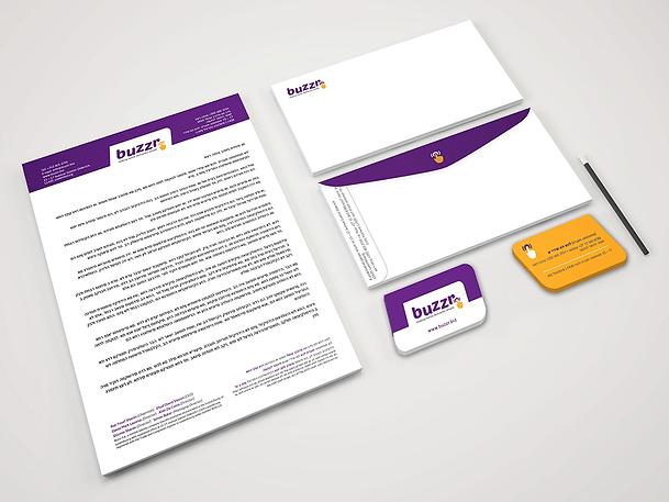 Buzzr Branding Stationery PSD Mockup-min