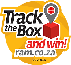 24290 RAM Track The Box Truck Decals R-m