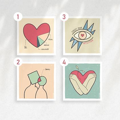 2 Love Cards