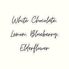 White Chocolate & Lemon