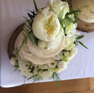 3-tier buttercream cake
