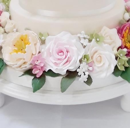 Sugar Flower Wreath
