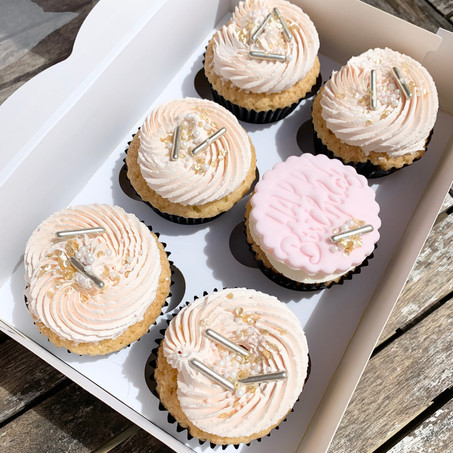 Swirl and Sprinkle Cupcakes
