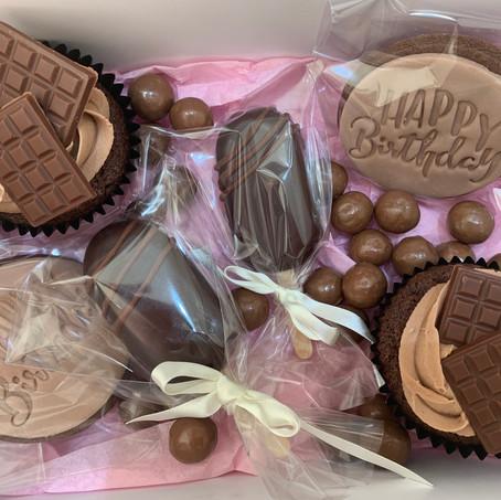 Chocolate Birthday Treat Box