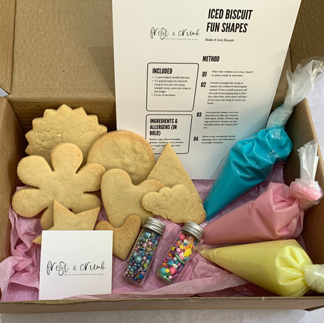 Vanilla 'Decorate at Home' Fun Shapes Biscuit Kit