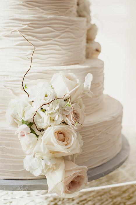 Unusual cake texture
