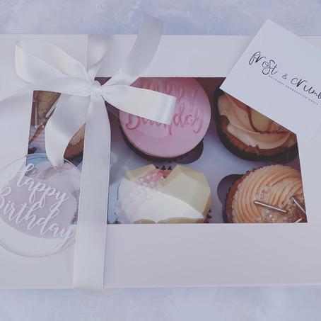 Birthday Cupcake Boxes