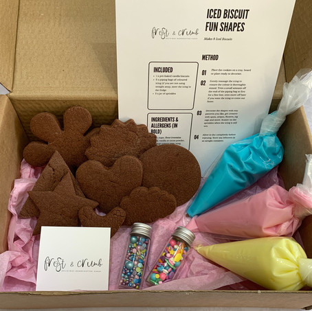 Chocolate 'Decorate at Home' Fun Shapes Biscuit Kit
