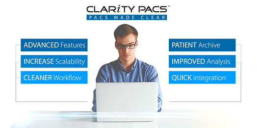 Clarity PACS, PACS Made Clear image