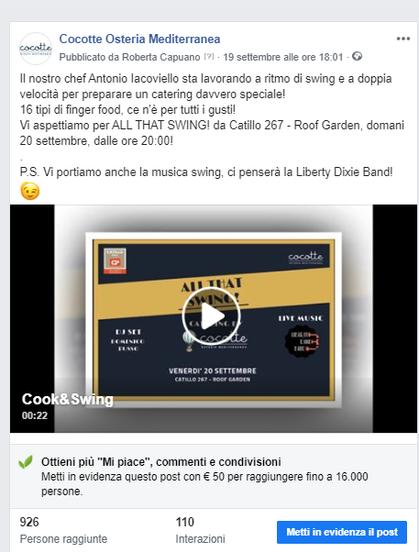 Video per Cocotte
