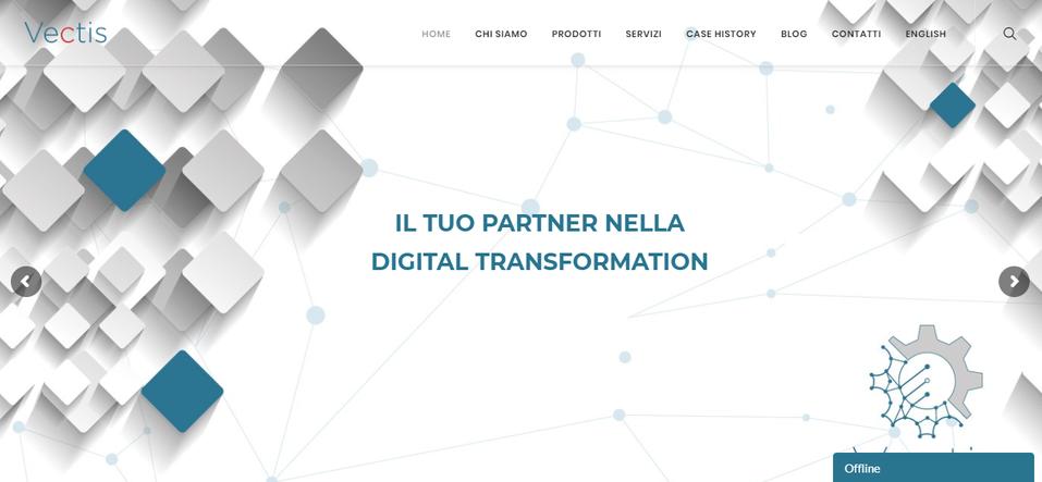 Homepage Vectis.it