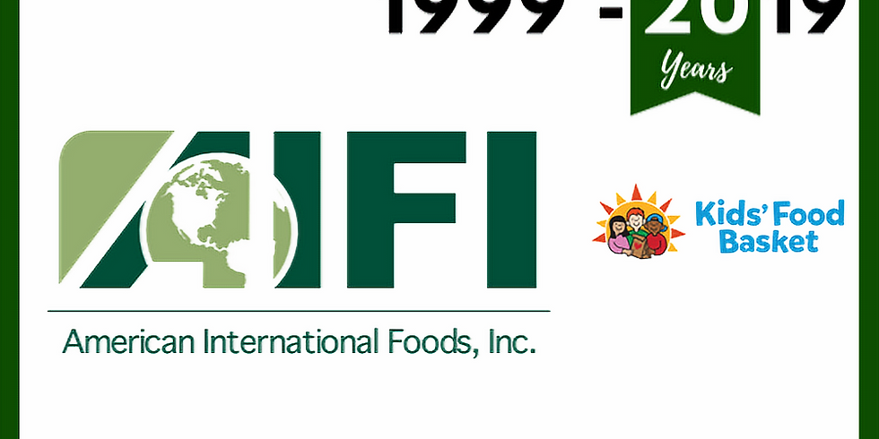AIFI's 20th Anniversary Fundraiser Event
