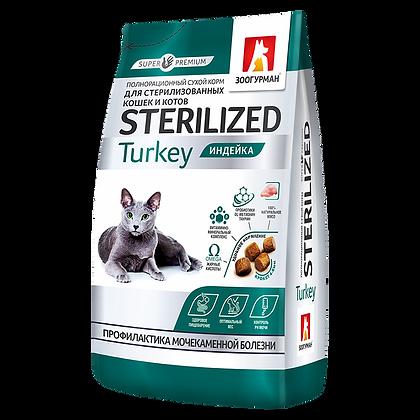 CATS ADULT TURKEY 27/13 -  супер-премиум корм , Индейка 350г.