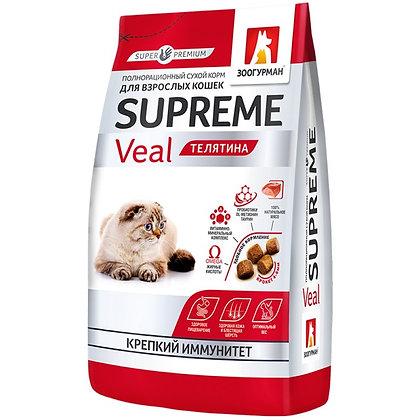 CATS ADULT VEAL 32/16 - супер-премиум корм, Телятина 350г.