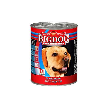 БигДог мясное ассорти 850г.