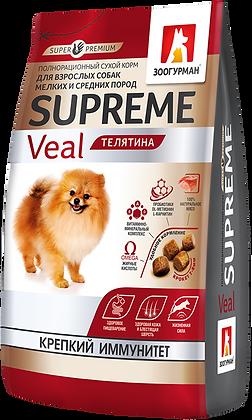 Superpremium Supreme Телятина 1,2кг