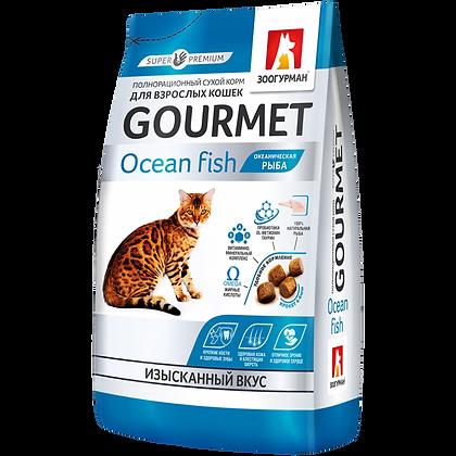 CATS ADULT OCEAN FISH 29/15 -  супер-премиум корм,  Океаническая рыба 350г.