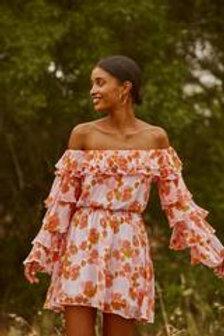 SUNDRESS  SHORT FRILL DRESS