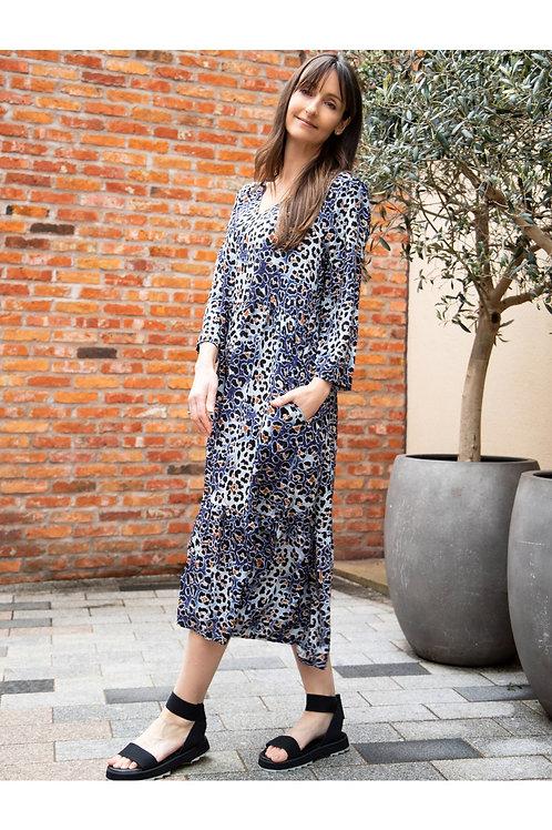 AMAZING WOMAN PENNIE BLUE DRESS