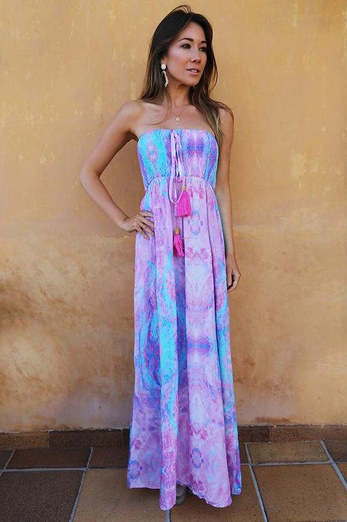 SOFIA ALEXIA BANDEAU DRESS