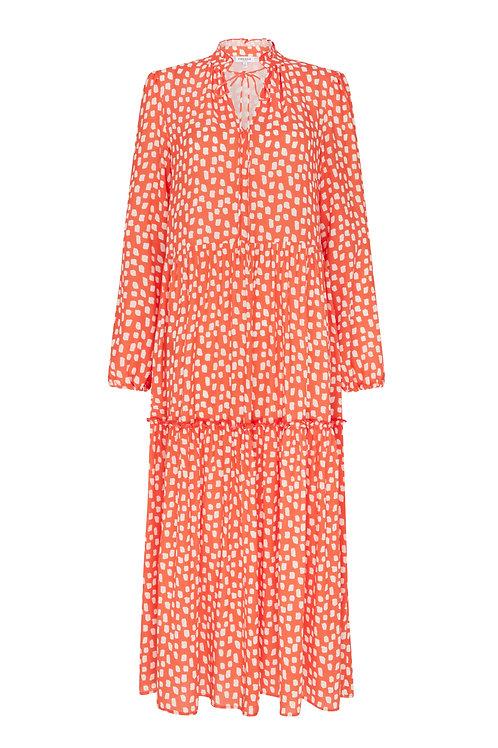 RED BLUSH DRESS