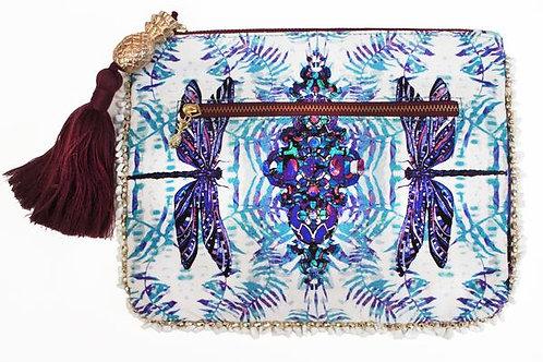 SOFIA ALEXIA DRAGONFLY CLUTCH BAG