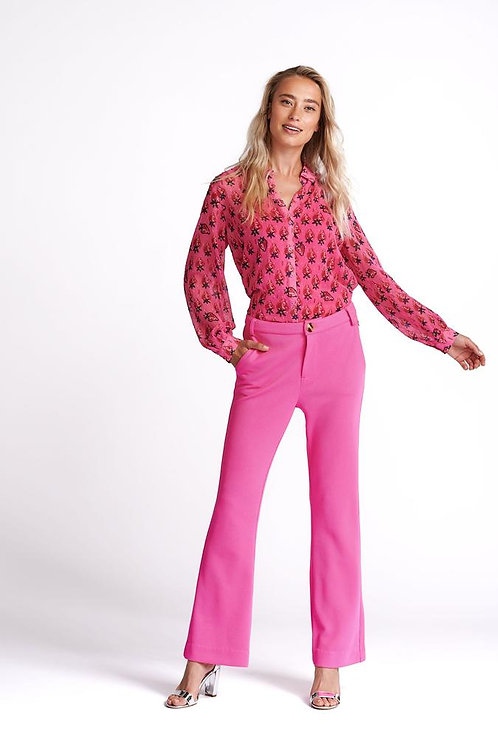 PINK STRAWBERRY BLOUSE