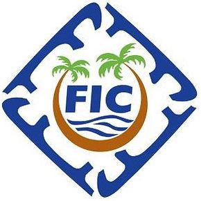 Florida Interclub Council Logo Greyscale