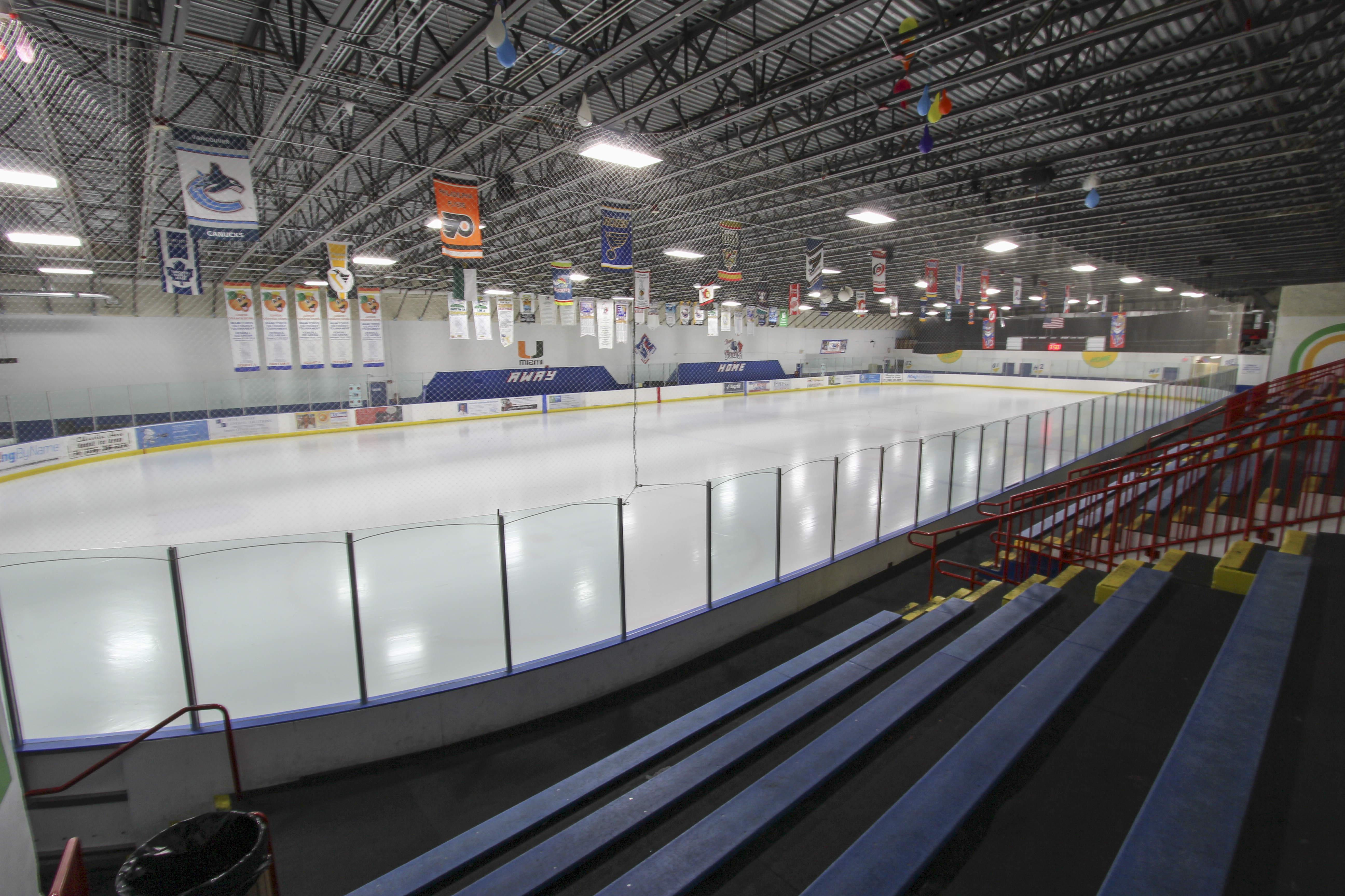Kendall Ice Arena Blue Rink