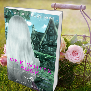COVER REVEAL - ONE WHITE ROSE