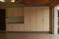 Maple Workbench/Cabinets, RSF